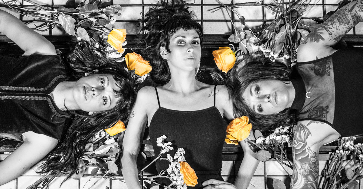 The Coathangers photo by Matt Odom